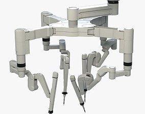 3D model Surgical Robot Arm