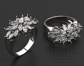 marquise Marquise Ring 3D printable model
