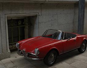 Alfa Romeo Giulietta Spider 3D model