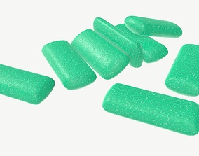 3D Chewing gum 04