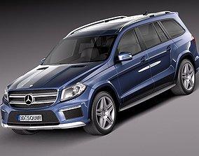 3D model Mercedes-Benz GL-Class 2013