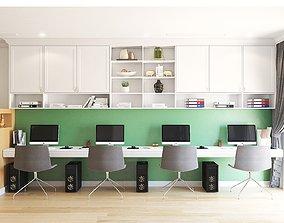 Office mini modern 3D