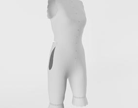 3D model 1890s Womens Undergarment