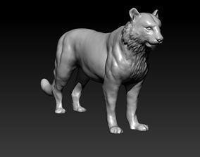 cat tiger 3D printable model