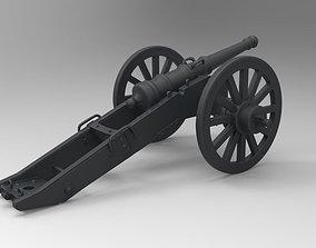 3D printable model War Cannon