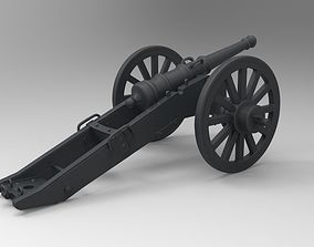 3D printable model War Cannon