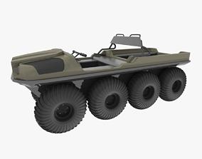 3D model ARGO Amphibious ATV