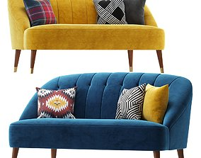 3D model Margot Accent sofa