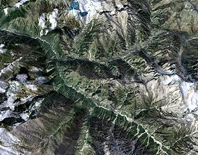 Mountain landscape nature 3D model