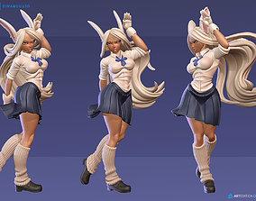 Rabbit Rumi Usagiyama School Girl SFW NSFW 3D Print 1