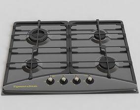 Zigmund Shtain Kitchen Stove2 3D