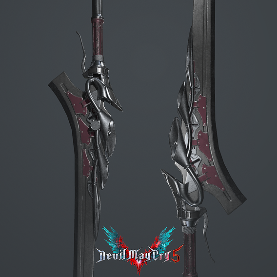 Devil may Cry 5 - Red queen (Fan Art)