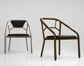 3D model Alma design marnie chair