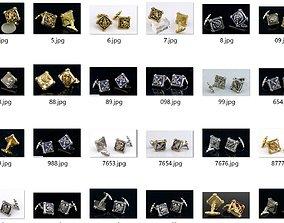3D printable model Cufflinks 12 Zodiac signs