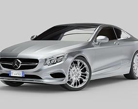 Mercedes-Benz S Class Coupe 2015 3D model