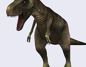 3DRT - Dinosaurs - Tyrannosaurus animated