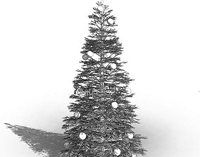 3D model Revit scalable and detailed conifer tree 1
