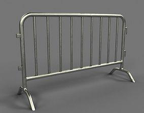 3D Metal Barrier
