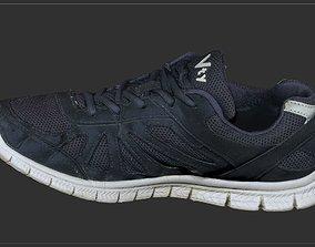 Worn sneakers 3D model
