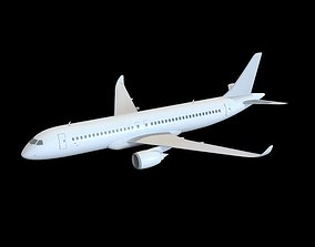 3D Chinese Trunk Aircraft C919