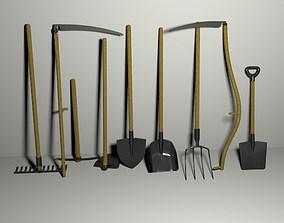 3D Garden Tools Pack