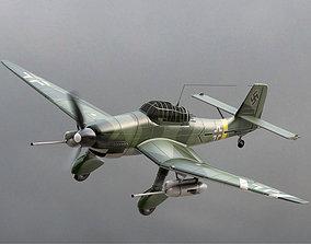 3D model Junkers Ju 87 Stuka