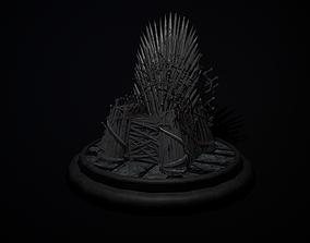 The Iron Throne 3D model