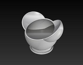 Disney Inspired Succulent Pot 3D Print Ready 3D Model V1