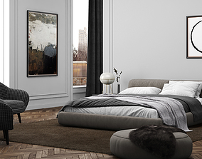 Bedroom Interior Scene 01 3D model