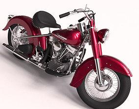 3D model vehicle Harley davidson