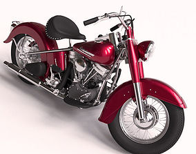 3D model Harley davidson