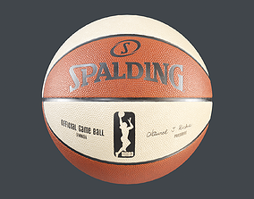 WNBA Spalding Basketball 3D model