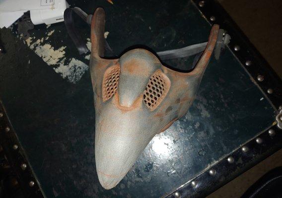 Plague Doctor Cyberpunk Mask