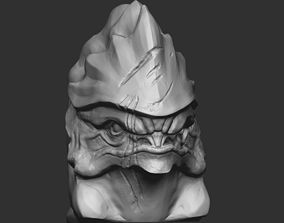 3D print model Urdnot Wrex from Mass effect