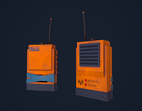 3D model Walkie Talkie - Radio