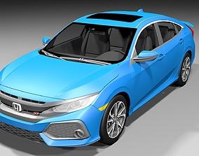 Honda Civic Si Sedan 2017 3D