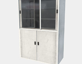 Low Poly Game Ready PBR Cabinet 3D asset