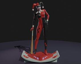 3D print model Harley Quinn classic