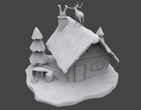 3D printable model Santa is stuck claus