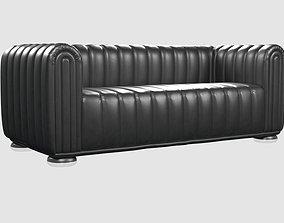 3D asset CLUB 1910 Sofa by JOSEF HOFFMANN