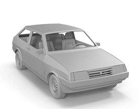 VAZ 2108 3D model