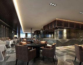 Business Restaurant - Coffee - Banquet 81 3D