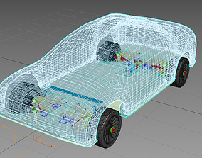 Toy Car for Projects 3dPrinter