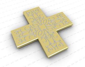 orthodox Cross 3D model