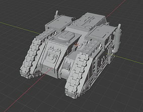 Sci-fi Transport army of humanityt old 3D print model