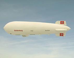 3D Hindenburg Zeppelin