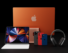 Ultimate Apple 2020 Products Bundle Collection 3D