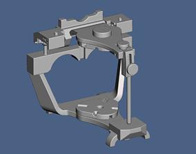 Denar type dental articulator in STL 3D print model