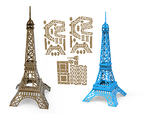 Eiffel tower 3D Model game