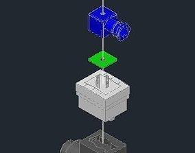Burket pulse flow meter 3D model